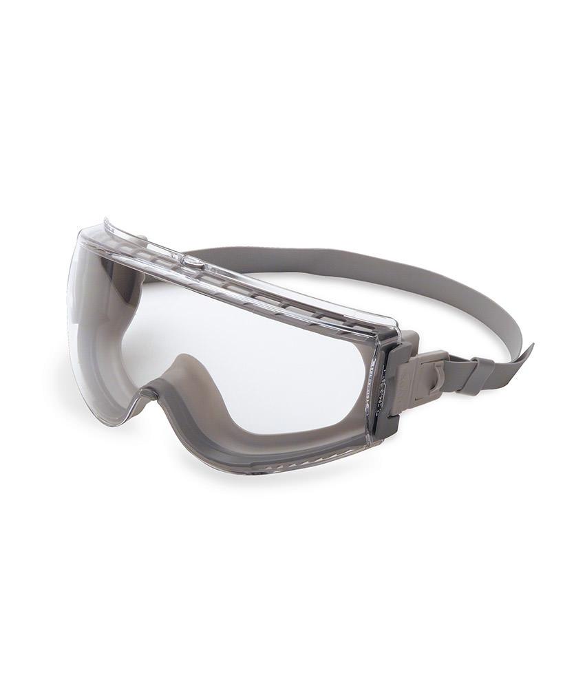2681e0e0da9be Óculos UVEX Stealth Ampla Visão - Lentes Incolor e Cinza com anti ...